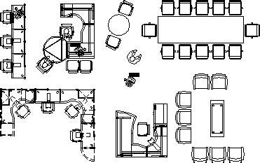 office furnitures  dwg block  autocad designs cad