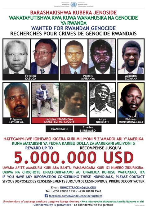 justiceinfonet leading rwandan genocide suspect