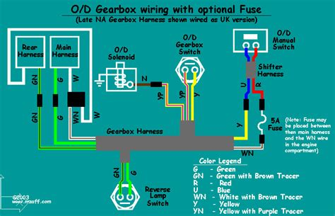 Mgb Overdrive Wiring Diagram With Fuse Flickr