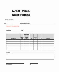 28 payroll correction form template survivingmstorg With payroll correction form template