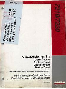Case Ih Tractor 7110 7120 Magnum Pro Parts Manual