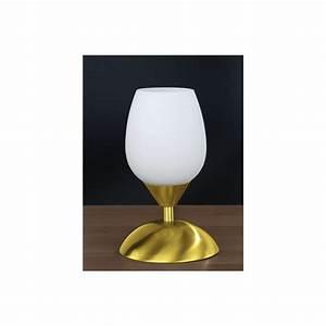 But Lampe De Chevet : lampe de chevet tactile blanc et or millumine ~ Dailycaller-alerts.com Idées de Décoration