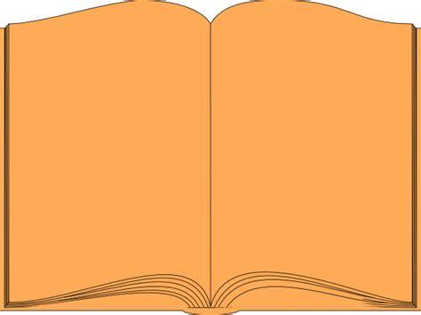 orange book clip art  clkercom vector clip art