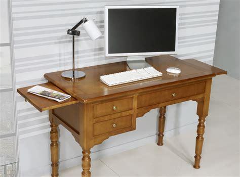 bureau merisier bureau 1 2 ministre en merisier massif de style louis
