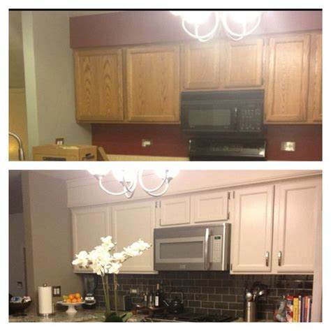 hide soffit above kitchen cabinets by adding crown molding kitchen i am colors
