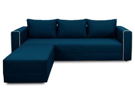 canapé bleu conforama canapé d 39 angle convertible 5 places en tissu angle