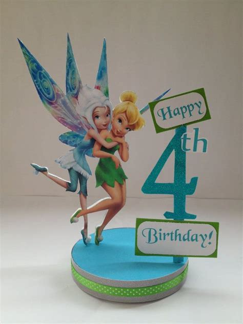 foto de Periwinkle and Tinker Bell custom birthday party