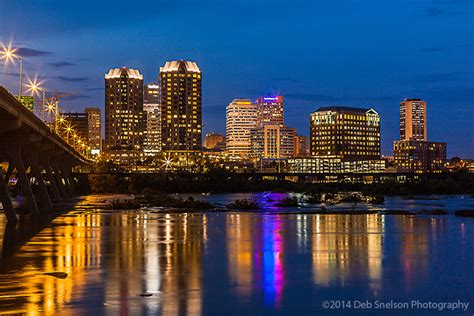 richmond dusk  dark deb snelson photography fine art