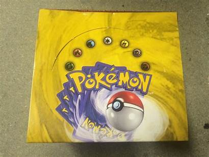 Pokemon Base Empty Box Booster Pack Cards