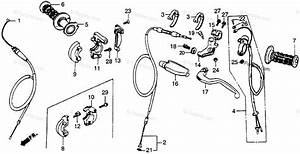 Honda Motorcycle 1986 Oem Parts Diagram For Switch