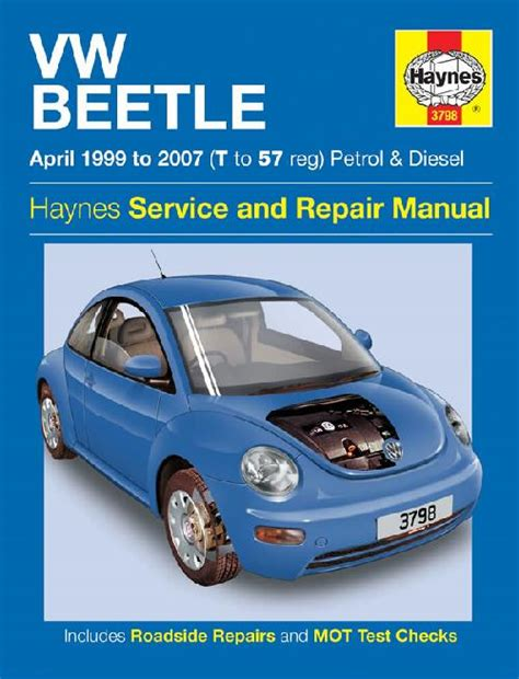 volkswagen vw beetle   repair workshop manual
