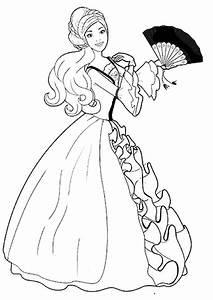 Malvorlagen Zum Drucken Ausmalbild Barbie Die Prinzessin Und Das