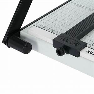 Page Trimmer A4 Tob7 Paper Cutter Metal Base Guillotine