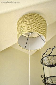 classy bare exposed bulb clip  cover shade ceiling desk