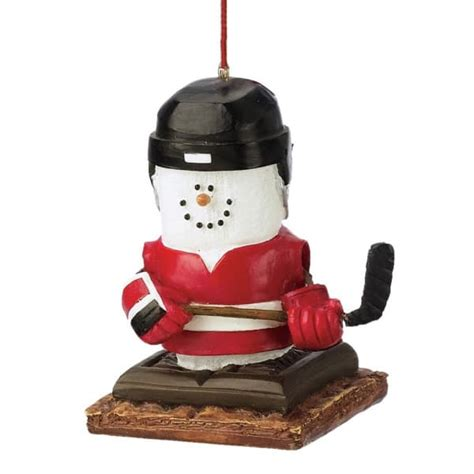 s mores hockey player christmas ornament midwest cbk