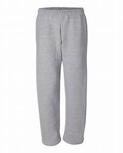 Gildan Open Bottom Sweatpants With Pockets Item 12300