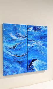 Epoxy Resin Painting Resin Art Abstract PaintingWall Art ...