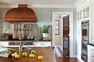 copper kitchen hood eclectic kitchen roughan With kitchen colors with white cabinets with mini cooper metal wall art