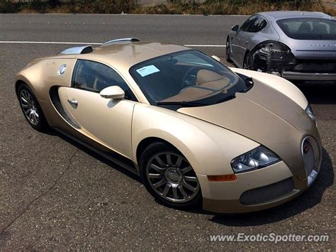 Bugatti Veyron Spotted In Bellevue, Washington On 0811