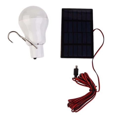 solar powered light bulbs 15w 130lm portable solar power led bulb solar powered