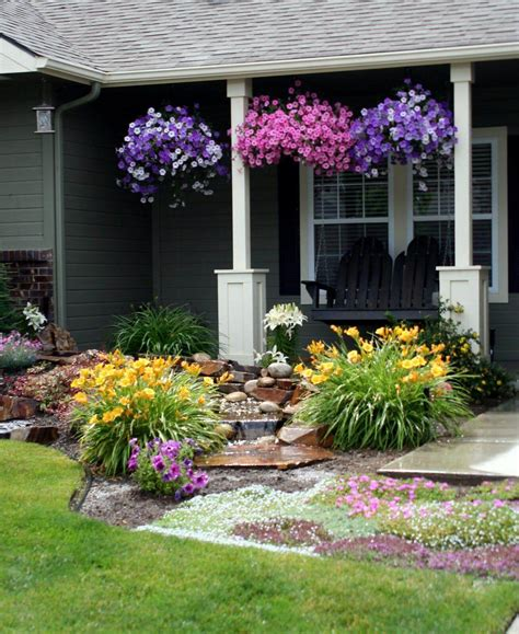 D I Y Garden Decoration Ideas by 50 Best Front Yard Landscaping Ideas And Garden Designs