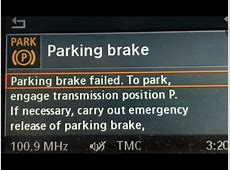 BMW Parking Brake Failed Fixed Easily Try FIRST
