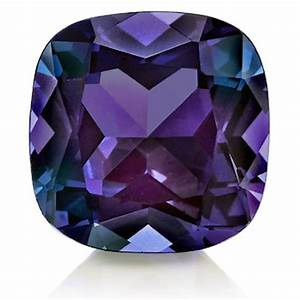 Lab-Created Pulled Alexandrite Color Change Cushion Loose ...