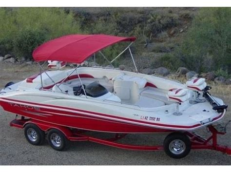 Best Fish And Ski Deck Boats 2007 tahoe 215 fish and ski deck boat v8 boats
