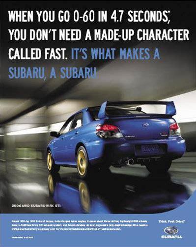 Subaru Car Ads by Subaru Ads Cartype