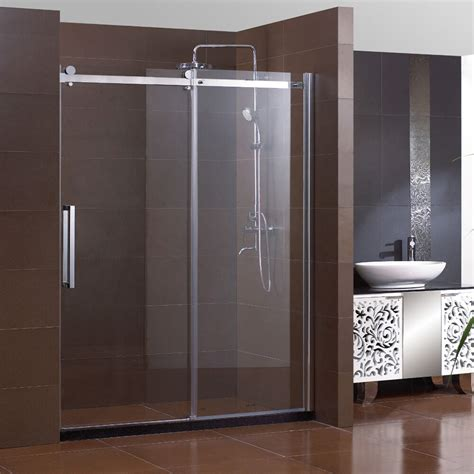 60 shower door new frameless sliding shower doors 60 quot x72 quot clear glass 5