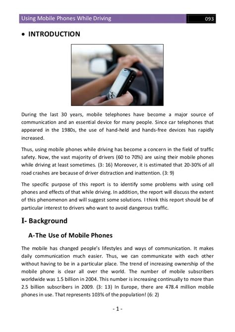 cell phone use while driving cell phone usage while driving essay