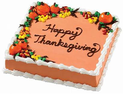 Thanksgiving Cake Cakes Square Fall Decorating Carvel