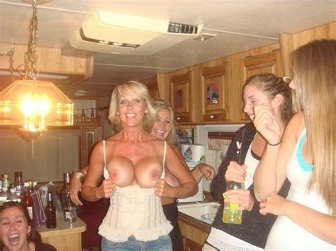 Mom With Embarrassed Daughters Bolted On Tits Sorted