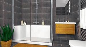 Panneau Salle De Bain Maison A Vendre : comment et pourquoi opter pour une douche en kit ~ Melissatoandfro.com Idées de Décoration