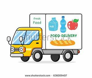 Grocery Delivery Truck Stock Images, Royalty-Free Images ...