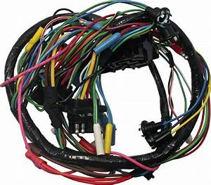 1961 Falcon  U0026 Comet Complete Under Dash Wiring Harness W