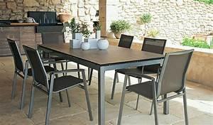 table salon de jardin salon de terrasse maisonjoffrois With canape resine tressee exterieur 2 salon de jardin selection et conseils pour bien choisir