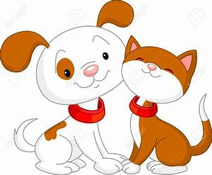 Cute Cats and Dogs Clipart - Cliparts and Others Art ...