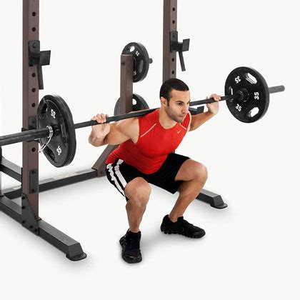 marcy steelbody squat rack stb  review