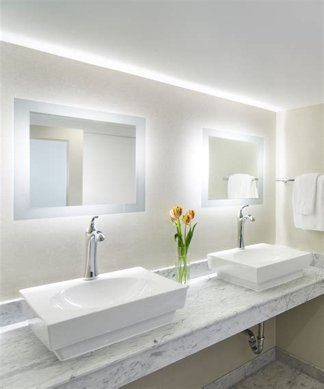 Electric Bathroom Mirror by Silhouette Led Lighted Bathroom Mirror Electric Mirror 174
