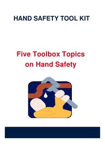 Hand Safety Toolbox Topics