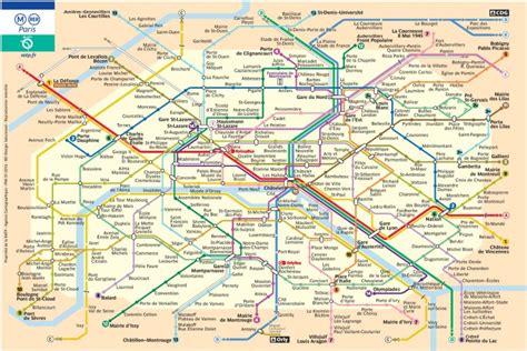 Carte Metro Rer by Plan M 233 Tro Ratp Pdf Gratuit 224 T 233 L 233 Charger