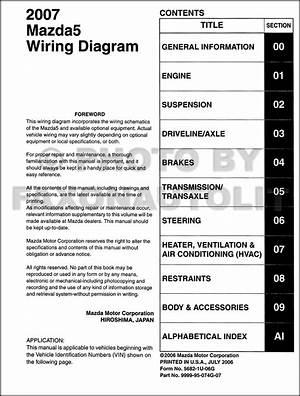 2006 Mazda 5 Wiring Diagram Manual Original 1212 Gesficonline Es