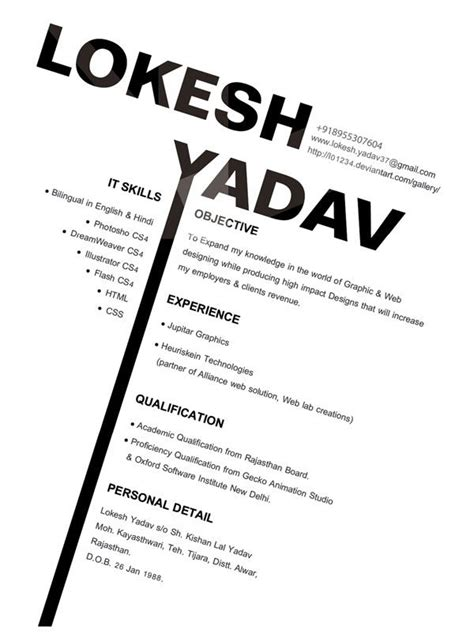 resume for graphic designers graphic design resume ideas designs with emotions