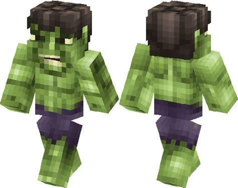 hulk marvel minecraft skin minecraft hub