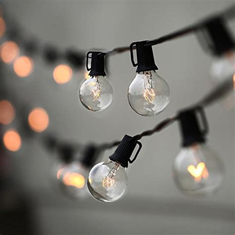 lat string lights vintage backyard patio lights with