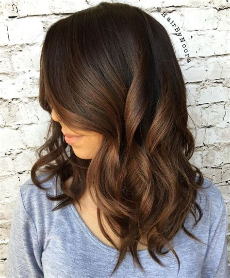 dark brown hair with light brown ombre 30 natural and rich brown hair ideas styleoholic