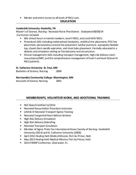 tara papacek nnp resume 2015