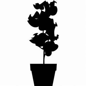 stickers pot de fleur en couleur ou noir et blanc par With affiche chambre bébé avec porte pots de fleurs en escalier