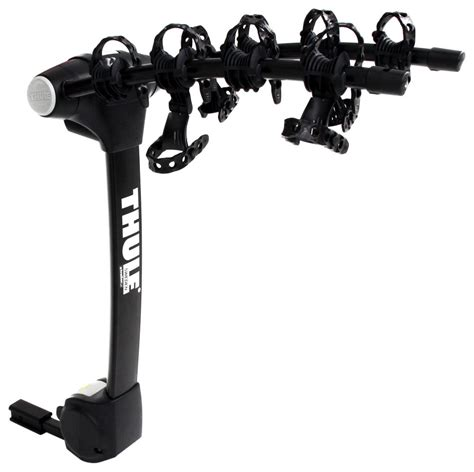 thule bike rack hitch thule vertex 4 bike rack 1 1 4 quot and 2 quot hitches tilting